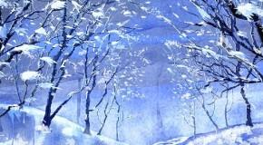 Kış Manzarası Resimleri