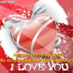 Resimli Aşk Mesajları