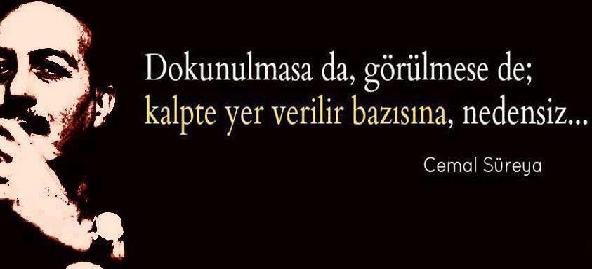 Cemal Süreyya Sözleri Güzel Sözler