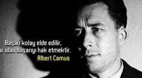 ALBERT CAMUS SÖZLERİ