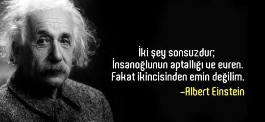 ALBERT EİNSTEİN SÖZLERİ