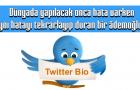 Twitter Bio Yazıları