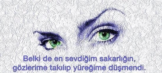 Gözlerle ilgili Sözler