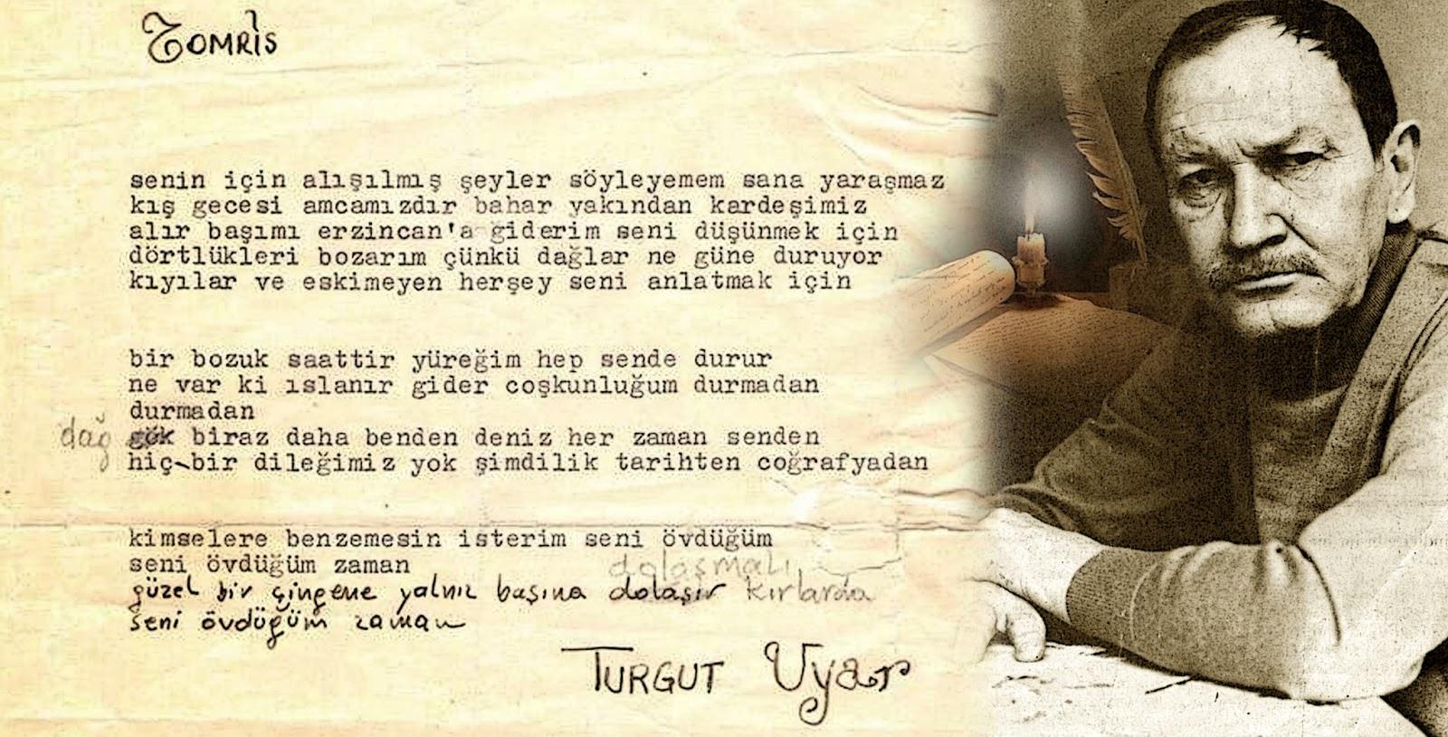 Turgut Uyar Sözleri Güzel Sözler